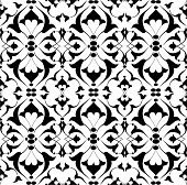 Black Ottoman Decorative Background Version