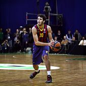 Alejandro Abrines Of Fc Barcelona