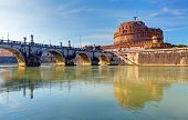 Castle St. Angelo. Rome, Italy
