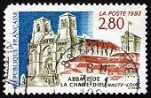 Postage Stamp France 1993 Chaise-dieu Abbey