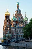 The Cathedral Of The Savior On The Blood