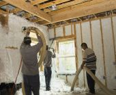 Three Wall Insulation Workers