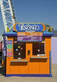 Ticket booth at Coney Island Luna Park in Brooklyn