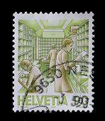Switzerland Postage Stamp (1986)