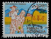 Indonesia Postage Stamp