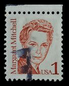 Usa. Postage Stamp Shows A Portrait (1986)