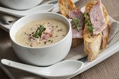 Ham And Sweetcorn Chowder