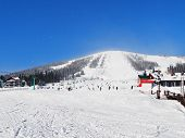 A Alpine Skiing Resort  Sheregesh.