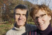 Baby Boomer Couple Outdoors