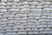 Sandbags Trenches Of Death In Dixmude Flanders Belgium Great World War 1