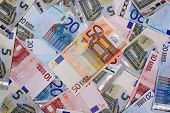 Money Euro Background