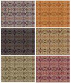 Colored Grunge Vintage Pattern Wallpaper Backgrounds Set