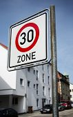 Speed limit 30 km/h