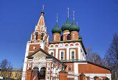 Archangel Michael church. Yaroslavl, Russia