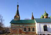 Church of the Tikhvin icon of the Mother of God. Yaroslavl, Russia