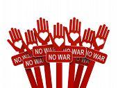 Hands With No War