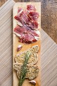 Spanish Ham With Toasts