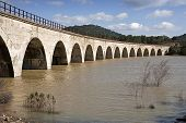 Railway line Cordoba - Almorchon bridge of Las Navas