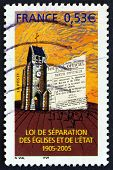 Postage Stamp France 2005 Freedom Of Religious Exercise