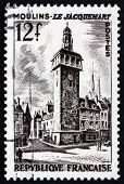 Postage Stamp France 1987 Jacquemart Of Moulins