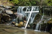 White Cross Waterfall