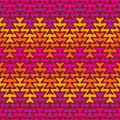 Retro Zigzg Pattern