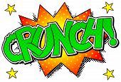 Comic Sound Effect Crunch