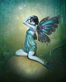 Blue Fairy, 3D Cg