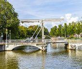 Draw Bridge In Harlingen