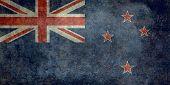 Flag of New Zealand - Vintage version