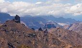 picture of parador  - Gran Canaria Caldera de Tejeda Roque Bentayga  - JPG