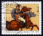 Postage Stamp Germany 1992 Gebhard Leberecht Von Blucher