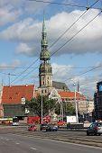 St. Peter's Church In Riga, Latvia