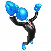 3D Character Businessman