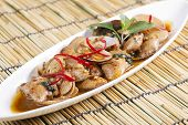 Stir Fried Clams With Roasted Chili Paste