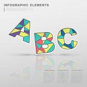 Geometric Colorful Alphabets