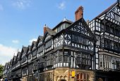 Tudor buildings in city centre, Chester.