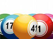 3D Lottery Balls