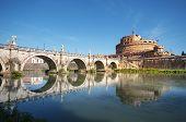 St. Angelo Bridge, Rome - Italy