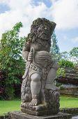 Stone Sculpture In The Temple Yard, Pura Taman Ayun