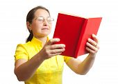 Women With Red Book