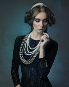 Noble Antique Lady