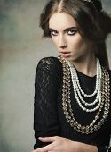Girl With Antique Princess Style