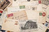 Old vintage mail
