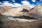View Of Nubra Valley And Karakoram - Ladakh