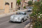 Porsche 356 1500 (1953) Runs In Mille Miglia 2014