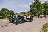 Riley 9 Brooklands Speed (1928) Runs In Mille Miglia 2014