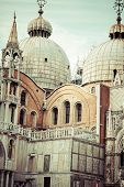 The Basilica Of San Marco In St. Marks Square In Venice, Italy