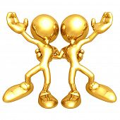 Mini Gold Guys