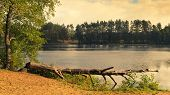 Frog's Eye Lake masuria district